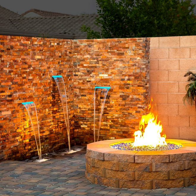 Fire and Fountain